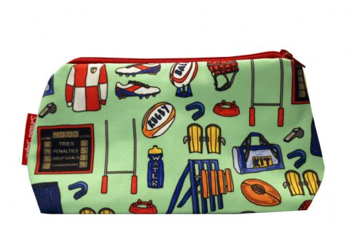 Selina-Jayne Rugby Limited Edition Designer Cosmetic Bag